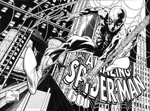 Amazing Spider-Man # 600