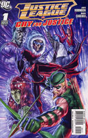Justice League: Cry For Justice # 1