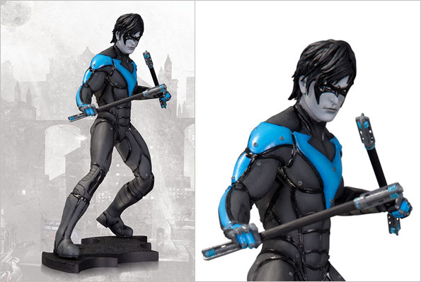 batmanArkhamCity_nightwing_statue