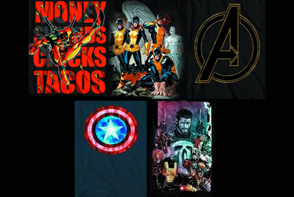 marvel tshirts blog