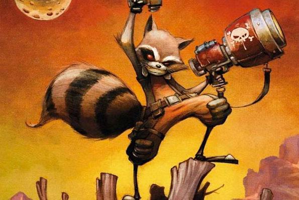 rocket raccoon blog